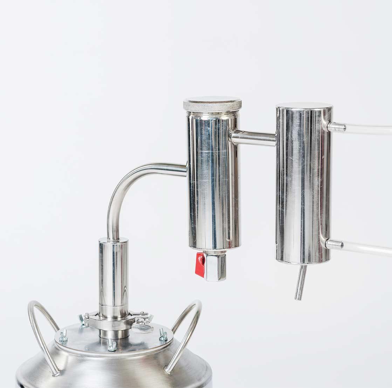 Купить самогонный аппарат на 30 литров германия медная колонна для самогонного аппарата