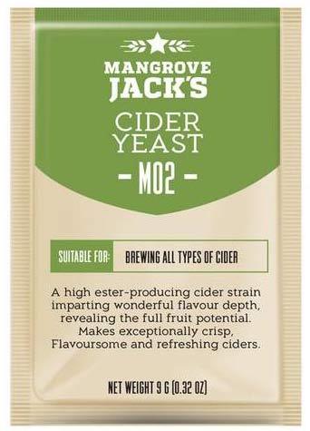 Дрожжи пивные Cider M02