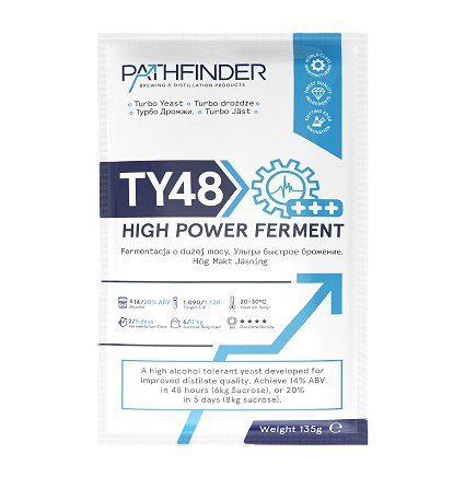 Дрожжи Pathfinder 48 Turbo High Power Ferment, 135 г