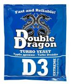 Турбо дрожжи DoubleDragon D3, 92 г