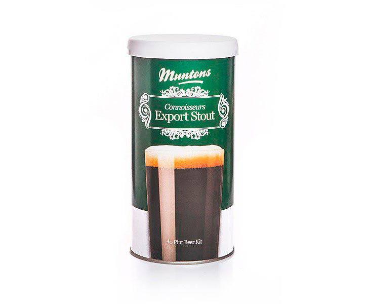 Солодовый экстракт Muntons Export Stout, 1,8 кг*