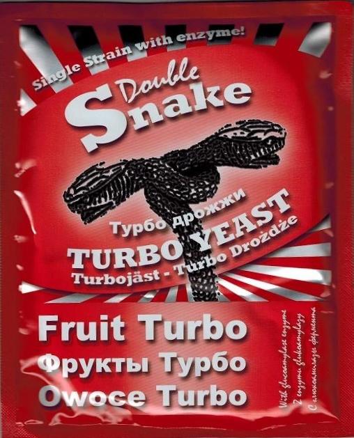 Турбо дрожжи DoubleSnake Fruit