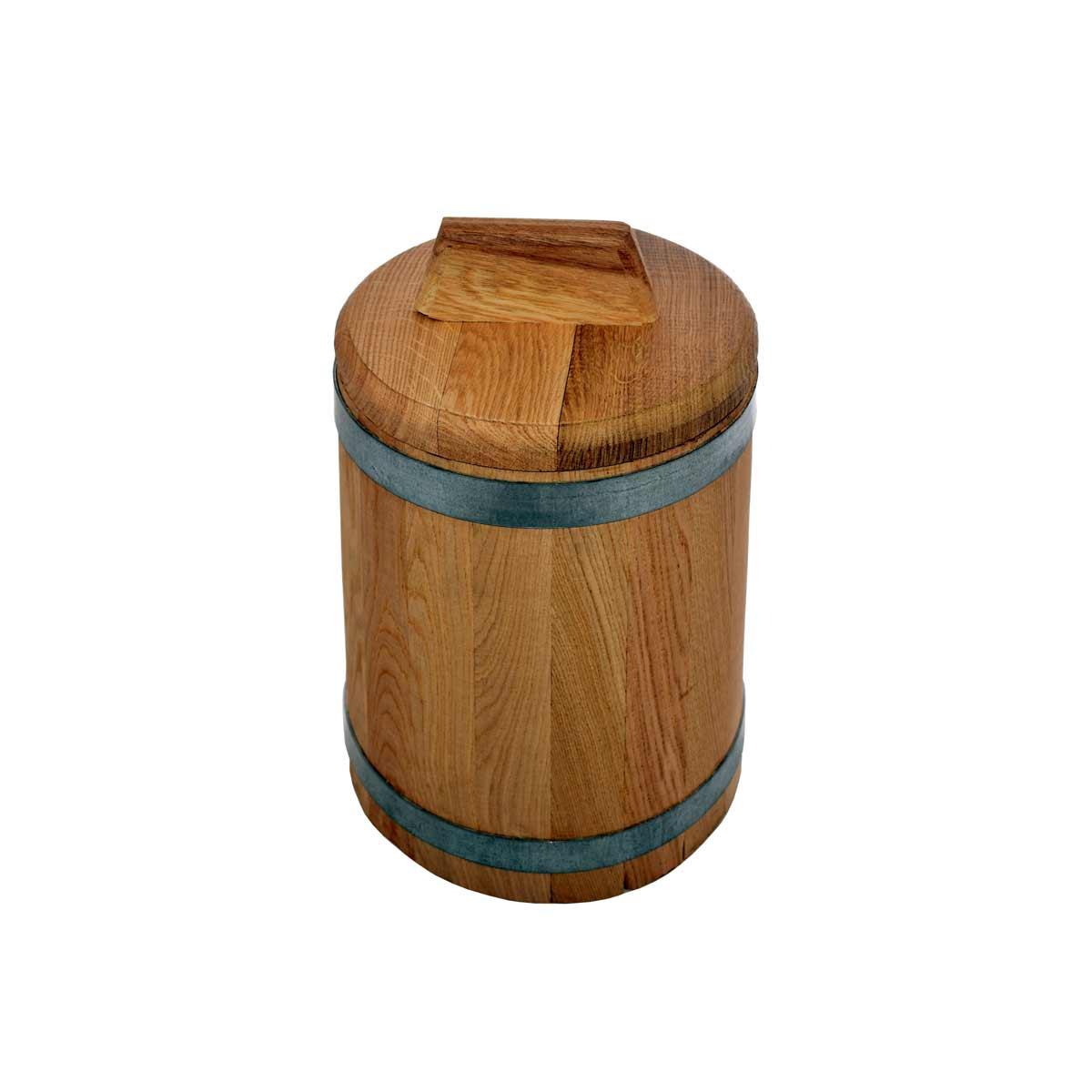 Кадка дубовая для засолки,  5 л*