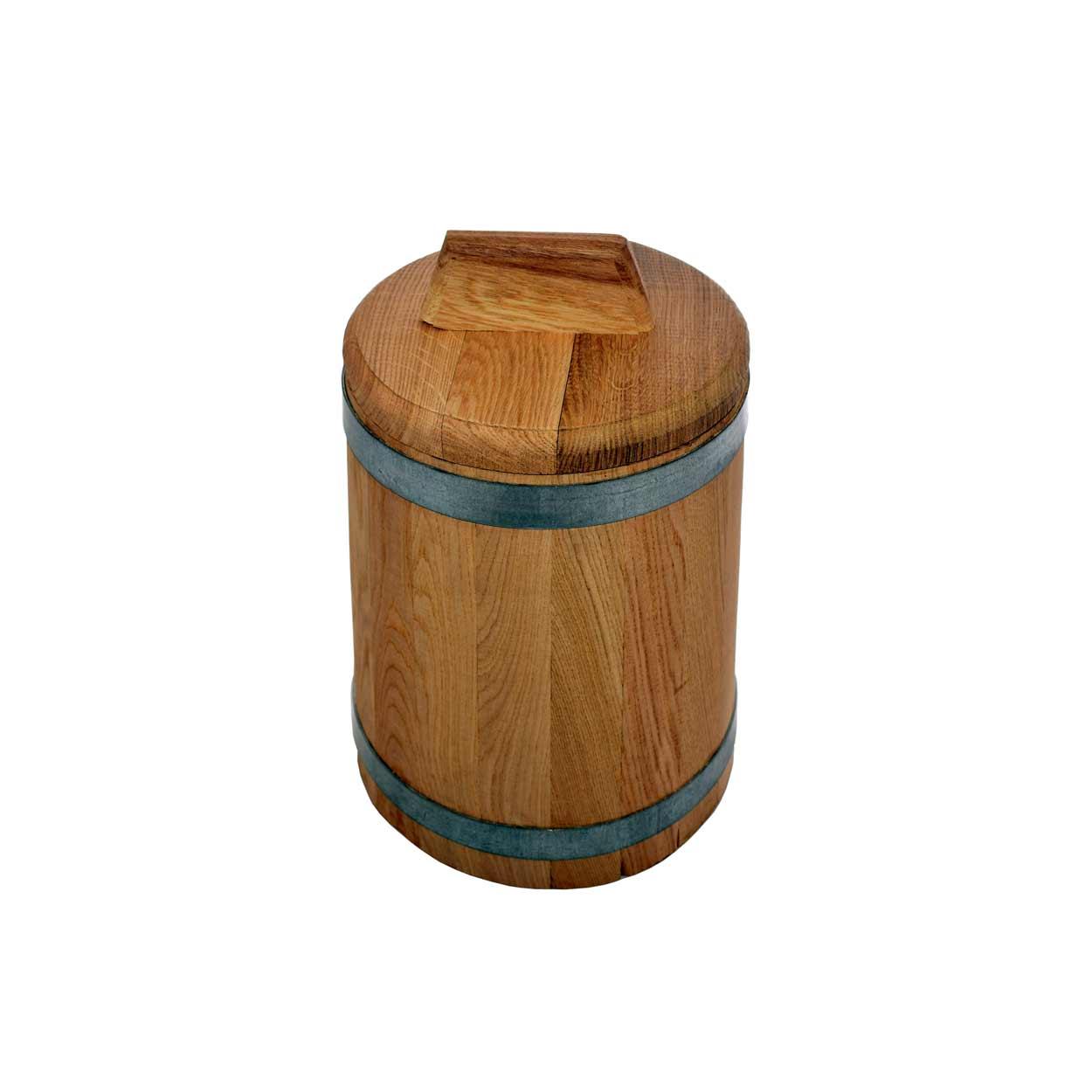 Кадка дубовая для засолки, 3 л*