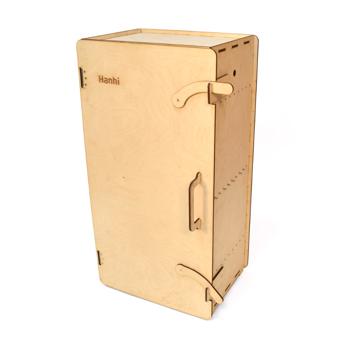 Деревянный коптильный шкаф Hanhi