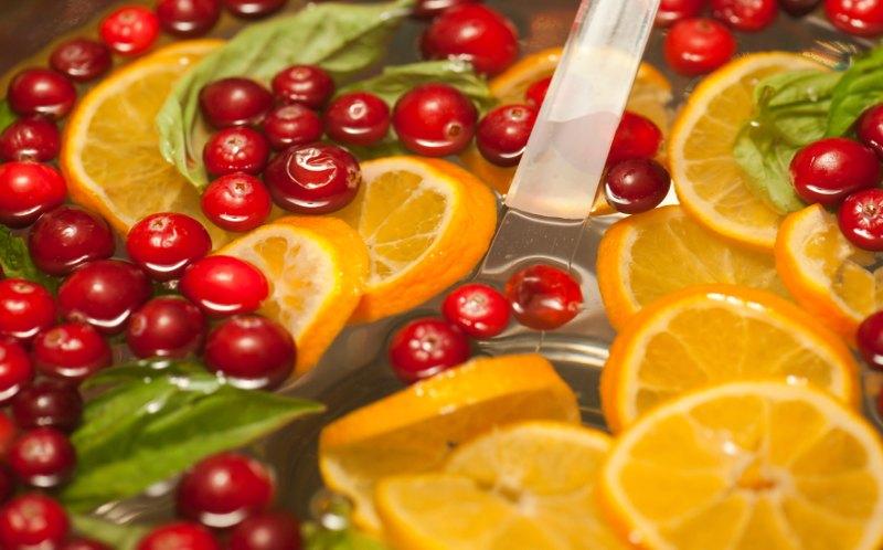 Рецепт рождественского пунша с лимоном и апельсином
