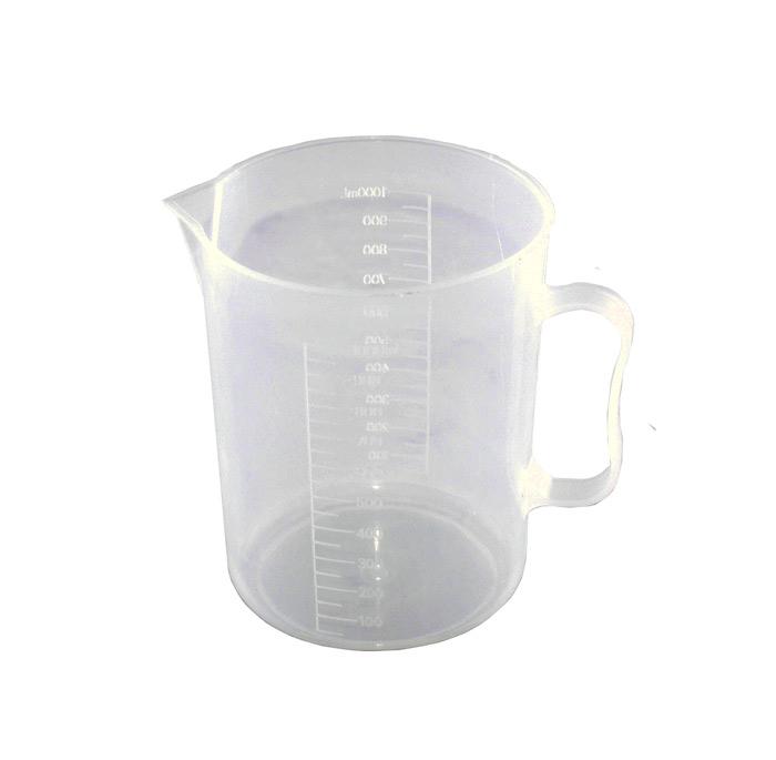 Мерный стакан лабораторный 1000 мл пластиковый
