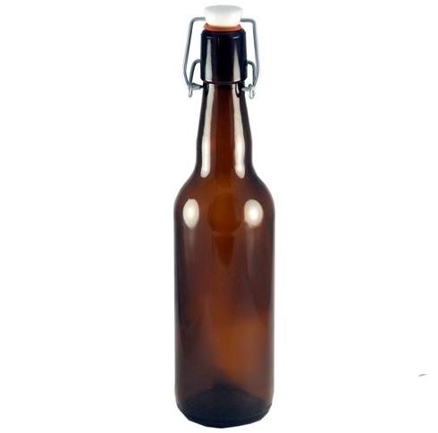 Бутылка 0,5 л БУГЕЛЬ (коричневая)