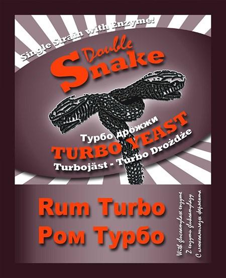 Турбо дрожжи Double Snake Turbo Rum*