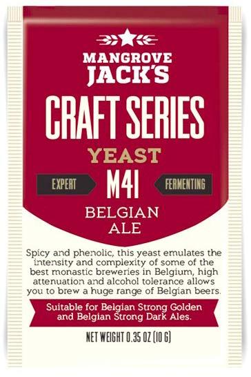 Дрожжи пивные Belgian Ale M41, 10 г