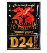 Турбо дрожжи DoubleDragon D24, 178 г