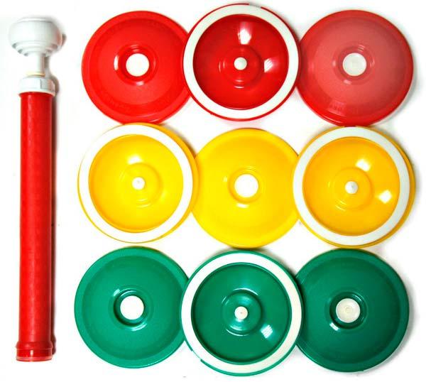 Набор вакуумный для консервирования (9 крышек + насос)*