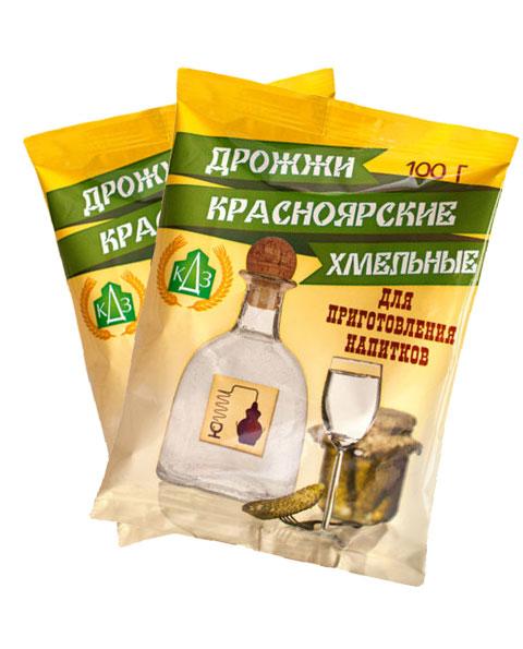 Дрожжи хмельные «Красноярские»