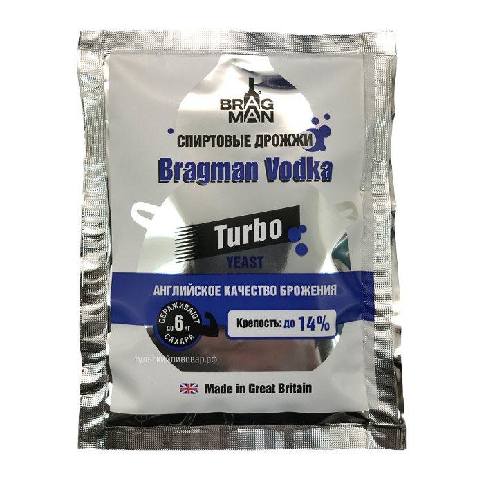 Дрожжи спиртовые BRAGMAN Vodka