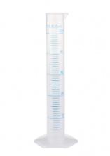 Мерный цилиндр, пластиковый, 50 мл