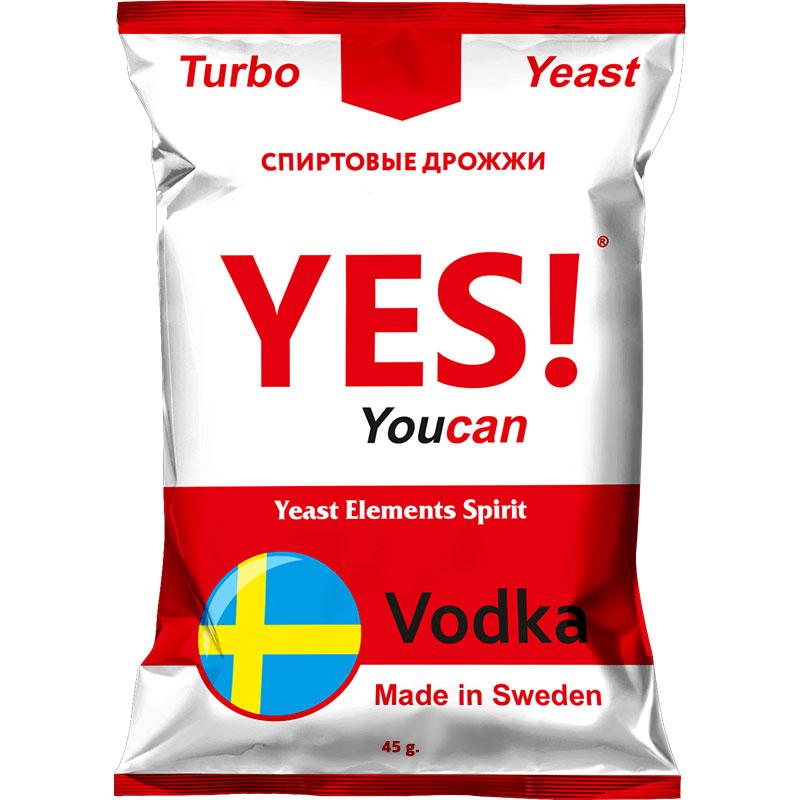 Дрожжи спиртовые YES! Vodka