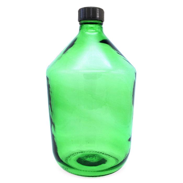 Бутыль 10 л КАЗАЦКИЙ (зелёный)