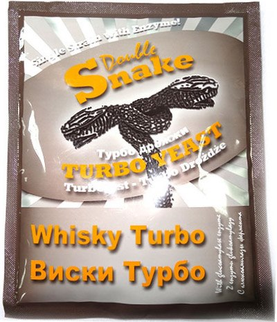 Турбо дрожжи Double Snake Turbo Whisky