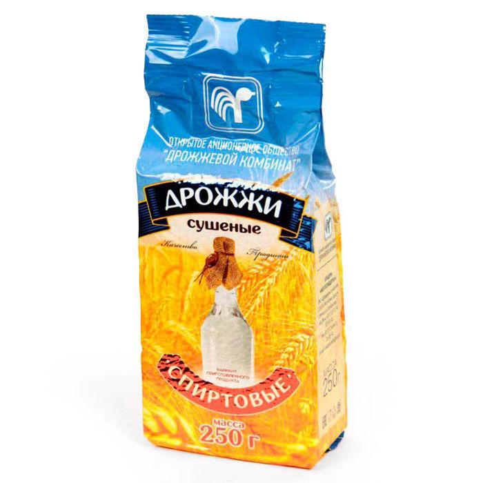 Дрожжи спиртовые сухие (Беларусь), 250 гр