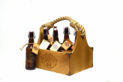 Набор бутылок 6 шт в подарочном ящике