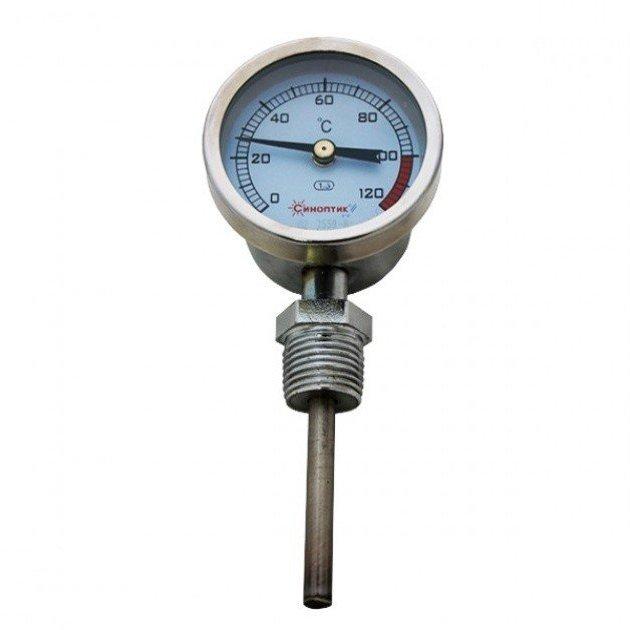 Термометр КРУГЛЫЙ РАДИАЛЬНЫЙ (вертикальный)