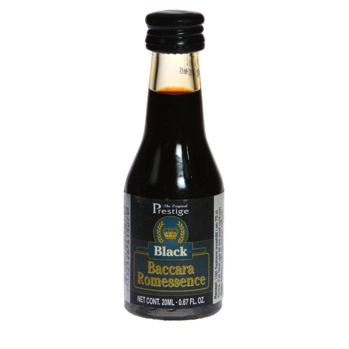Эссенция PRESTIGE Black Baccara Rum Черный Ром, 20 мл*