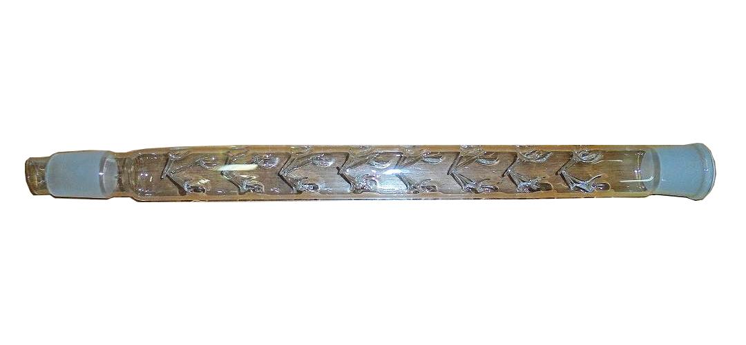 Стеклянный дефлегматор 30 см