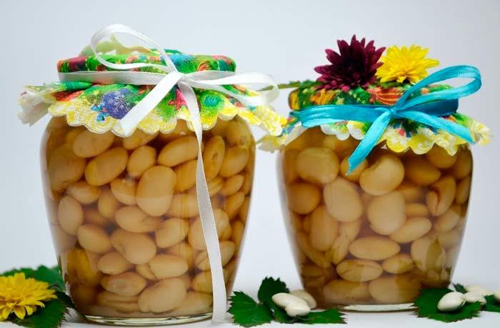 Рецепт консервированной фасоли в автоклаве