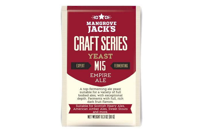 Дрожжи Mangrove Jacks Empire Ale M15, 10 г*