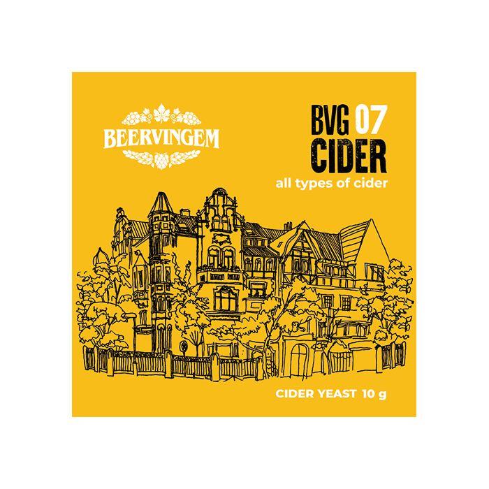 Дрожжи пивные BEERVINGEM Cider BVG-07