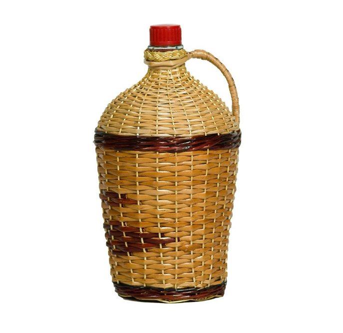 Бутыль-декор 4,5 л РОВОАМ в оплетке