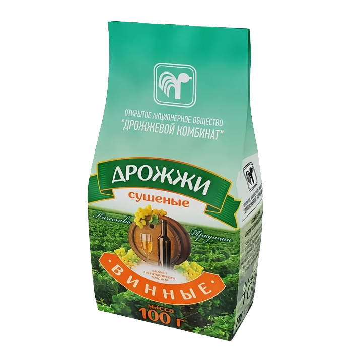 Дрожжи винные сухие (Беларусь), 100 гр