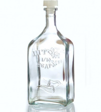 Бутыль стеклянная «Штоф», 1,2 л