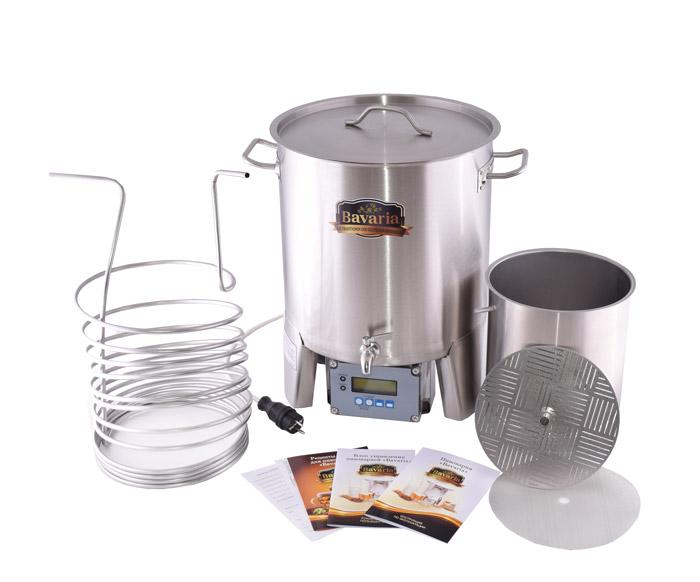 Домашняя пивоварня бавария 30 литров отзывы самогонные аппараты из беларуси