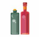 Графины и бутыли