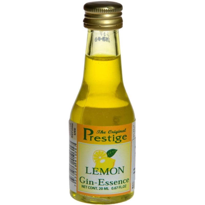 Эссенция PRESTIGE Lemon Gin Лимонный Джин, 20 мл