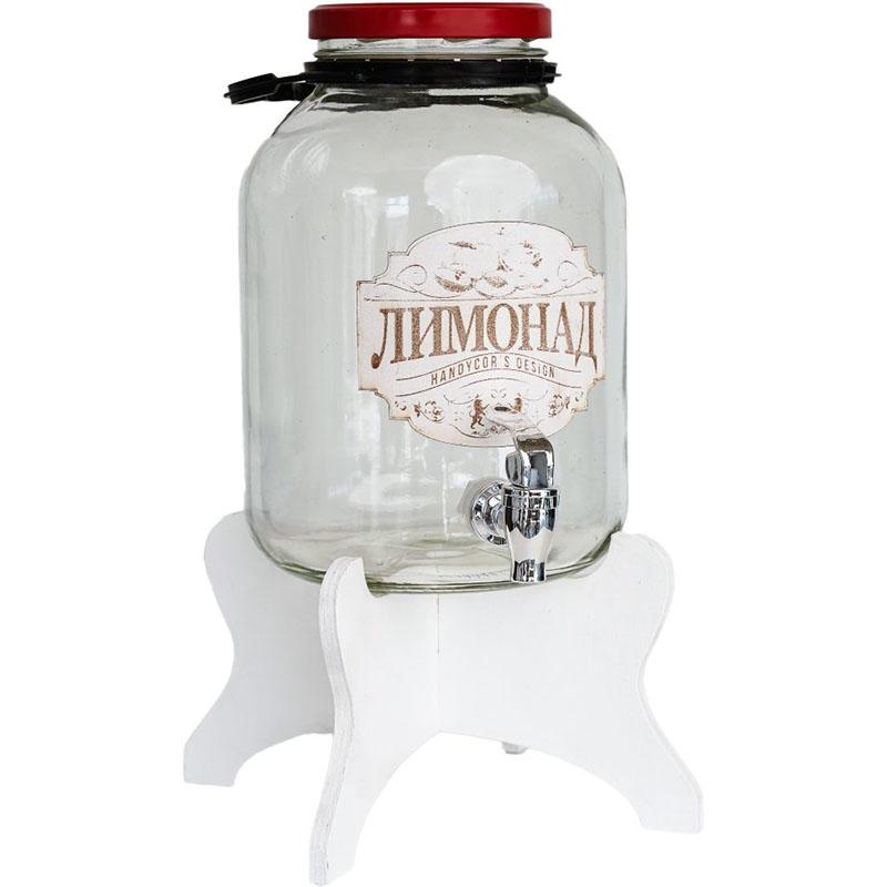 Бутыль-декор 5 л ЛИМОНАДНИЦА на подставке