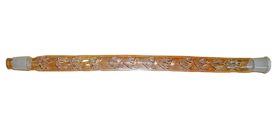Стеклянный дефлегматор 40 см