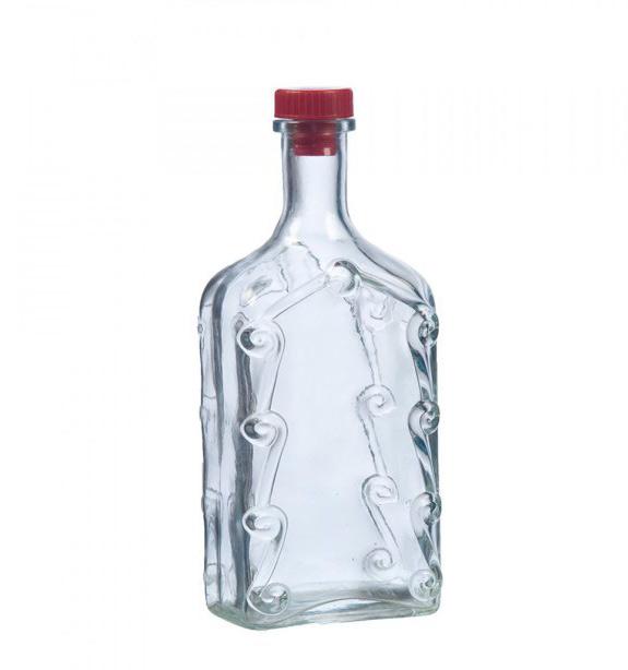 Бутыль стеклянная «Ёлка», 1 л