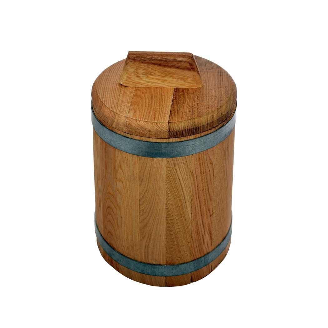Акция на Кадка дубовая для засолки, 15 л