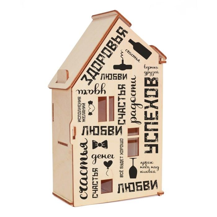 Подарочная упаковка для бутылки 0,5 л*