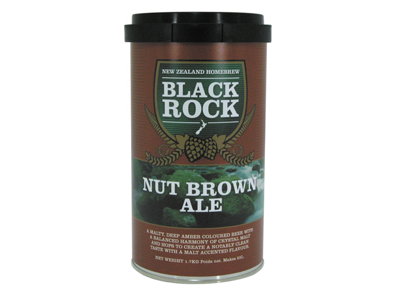 Солодовый экстракт «Black Rock NUT BROWN ALE»